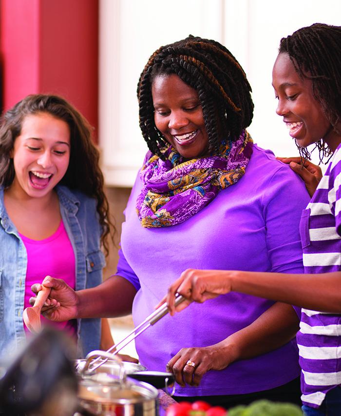 Council Bluffs teens with adoptive parent